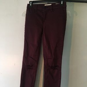 Maroon Pacsun Jeans.